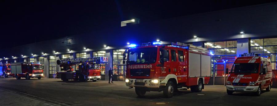 Feuerwehr Abend