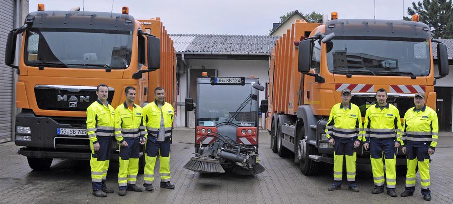 Abfall Bauhof-Team
