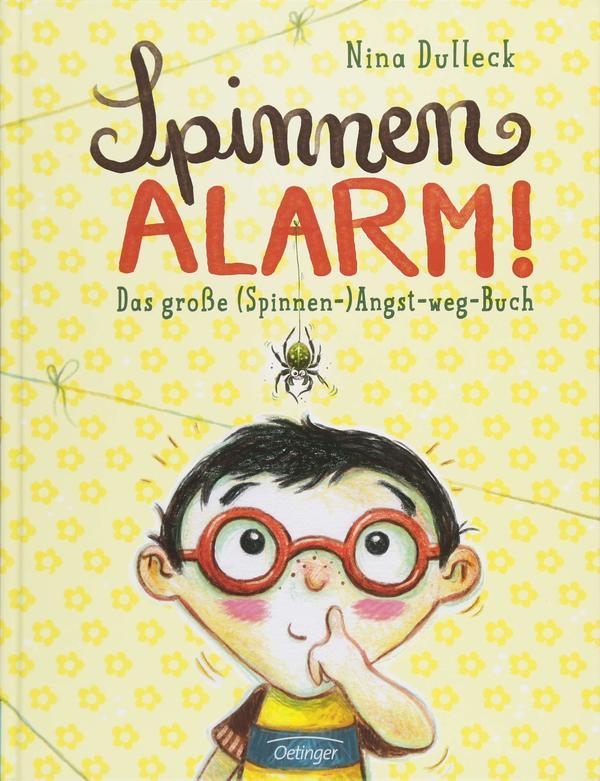 Bücherei_Spinnenalarm