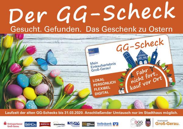 GG-Scheck Osteranzeige