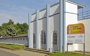 Freibad Groß-Gerau - Eingangsbereich
