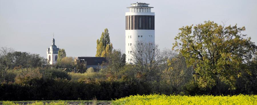 Wasserturm Stadtkirche Titel