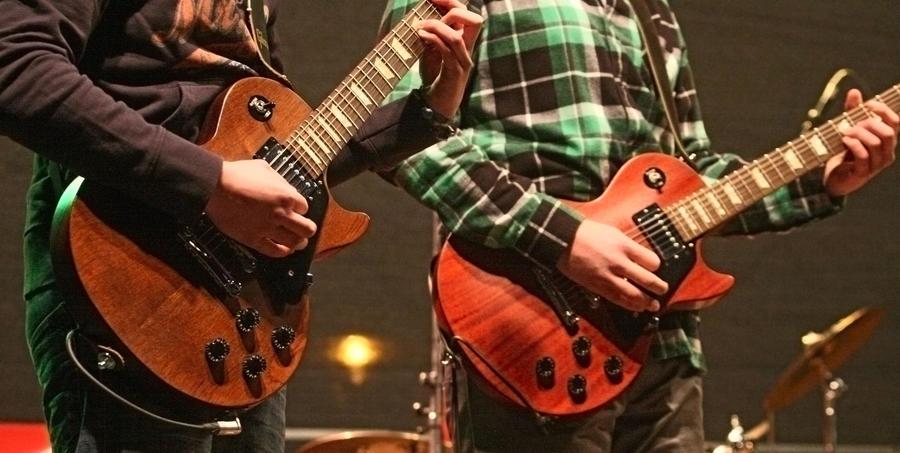 Kulturcafé Gitarren Titel