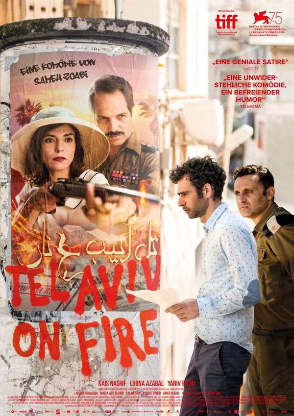 Werbeplakat des Films Tel Aviv on fire