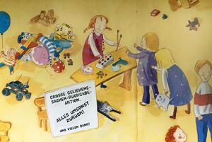 "Bild aus dem Kinderbuch ""Paula leiht sich was"""